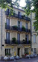 Accommodation in Montpellier at a hotel